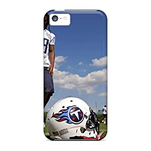 Durable Tennessee Titans Nfl Football Back Case/cover For Iphone 5c