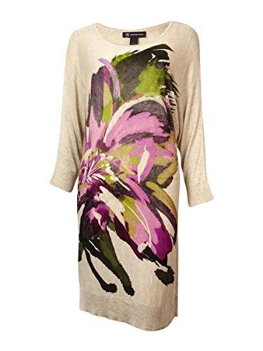 INC International Concepts Women's Dolman Sweater Dress (PS, Radiant Lily) Dolman Sweater Dress