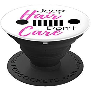 Jeep Hair Don' Care Popper - PopSockets Grip and Stand for Phones and Tablets