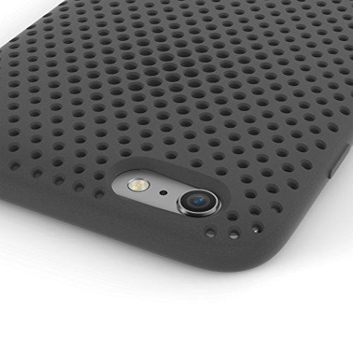 AndMesh Case for iPhone 6s Plus/6Plus Black, AMMSC630-BLK (Black iPhone case)