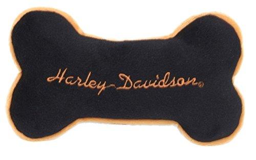 Image of Harley Davidson Plush Bone Dog Toy