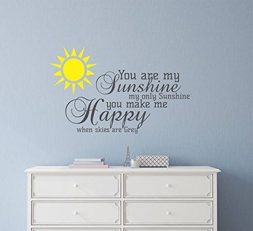 You are Sunshine Wall Decal