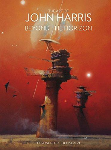 Book cover from The Art of John Harris: Beyond the Horizon by John Harris