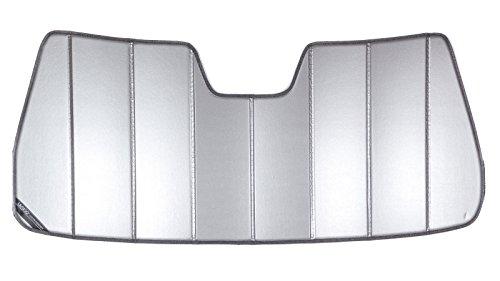 Covercraft UVS100 - Series Heat Shield Custom Windshield Sunshade for Chevrolet and GMC (Laminate Material, Silver) Uvs100 Heat Shield