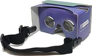 Google Cardboard VR Headset Goggles V2 (Purple Haze)