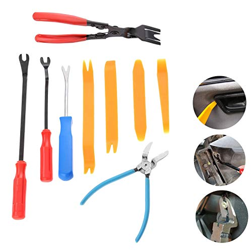 Alina-Shops - Auto Fastener Removal Tool Car Door Panel Upholstery Engine Cover Fender Clips Repair Tools Installer Clip Plier tools by Alina-Shops (Image #5)