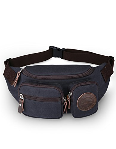 Hemp Jeans (Muzee Waist Pack Running sling backpack crossbody bag fanny)