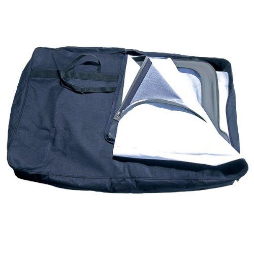 Rugged Ridge 12107.01 Black Window Storage Bag