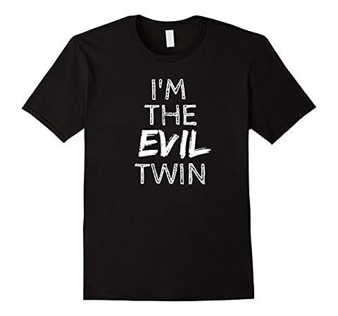 Mens I'm The Evil Twin T-Shirt Large Black (Evil Twin)