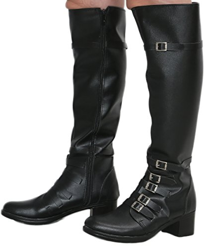 Scarlet Witch Black PU Knee-high Boots Shoes Costume Cosplay Prop Female US8.5 by Hotwinds (Image #4)