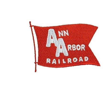 Ann Arbor Railroad Embroidered Polo 77