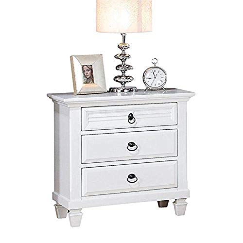 Cheap Acme Furniture 22423 Merivale Nightstand, White, One Size