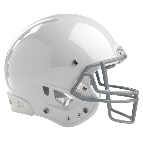 Rawlings Youth Quantum Football Helmet, White, Large