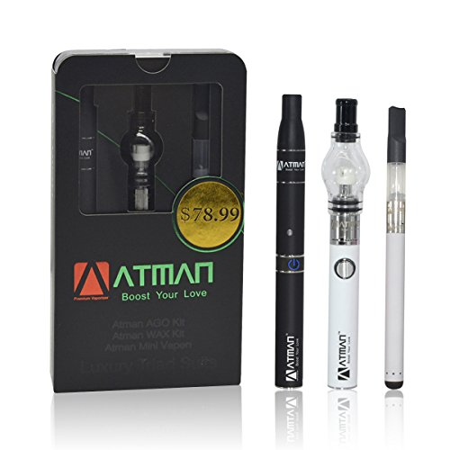 Vaporizer herbal,Atman Luxury Triad Vaporizer kits and portable vaporizer...