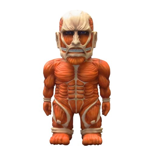 超大型巨人 「進撃の巨人」 ソフビフィギュア