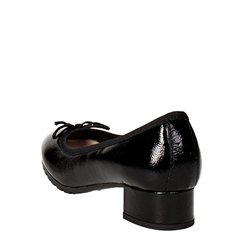 Pregunta PO32363 Ballet Flats Women Black ZjtGV