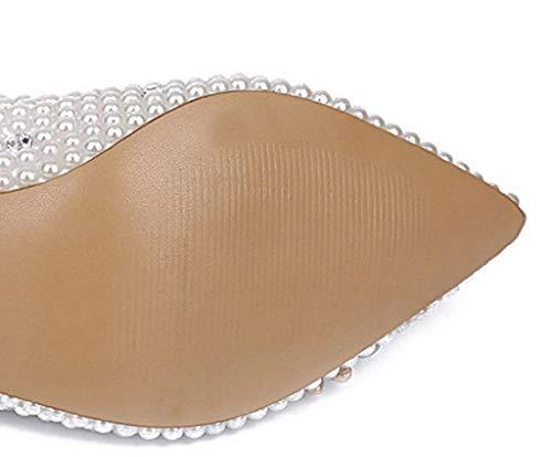 di Festa la Cerimonia Marine Colore Dimensioni Perle Bianca d'Estate per da 39 Stelle Tacchi Alti di wRXqTXUz