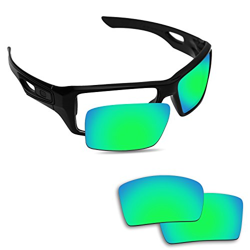 Fiskr Anti-saltwater Replacement Lenses for Oakley Eyepatch 1&2 Sunglasses - Various Colors by Fiskr