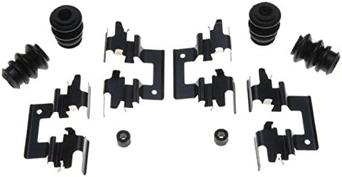 ACDelco 18K463X Professional Rear Disc Brake Caliper Hardware Kit with Clips