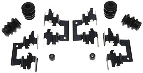 ACDelco 18K1364X Professional Rear Disc Brake Caliper Hardware Kit with Clips, Seals, and (Eagle Talon Brake Disc)