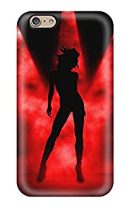 New Style 4686661K92358881 Tpu Shockproof Scratcheproof Hd Dance Girl 1080p Hard Case Cover For Iphone 6