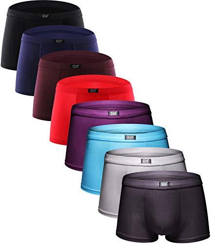 YOULEHE Men's Underwear Soft Bamboo Boxer Briefs