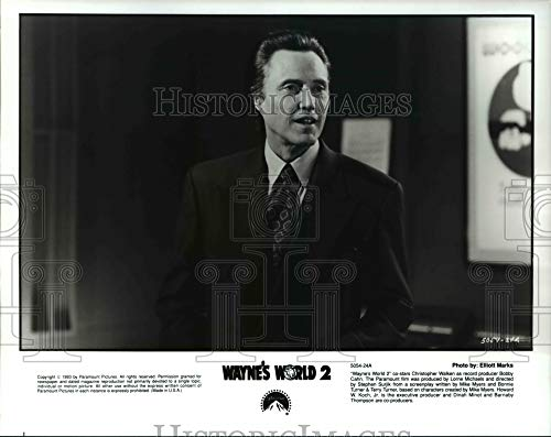Historic Images - 1995 Press Photo Christopher Walken in Wayne's World 2