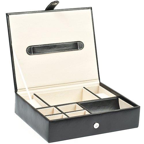 Bello Games New York, Inc. Carnegie Hill Men's Watch/Jewelry & Valet Box