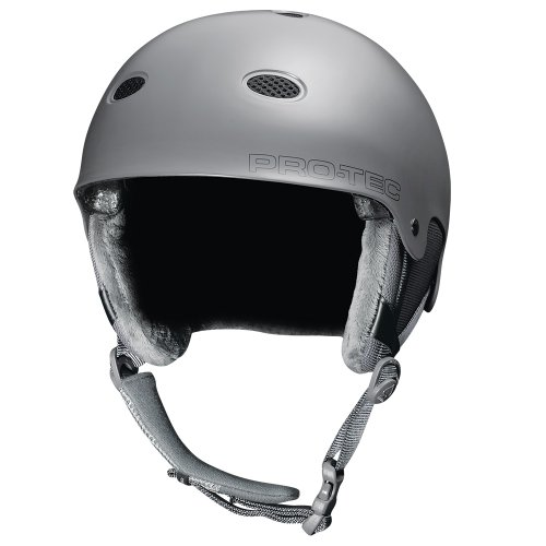 Pro-tec B2 Snow Snowboarding Helmet, Matte Tonal Gray, Small/Medium