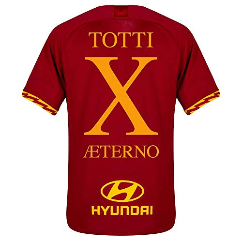 Nike 19-20 AS Roma Home Shirt Aeterno X Jersey 2019-2020 - S