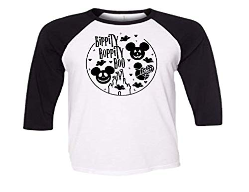 Handmade Disney Family Shirt Halloween Minnie Mickey Bippity Boppity Boo]()