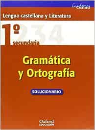Lengua Castellana y Literatura 1º ESO Cuadernos Oxford
