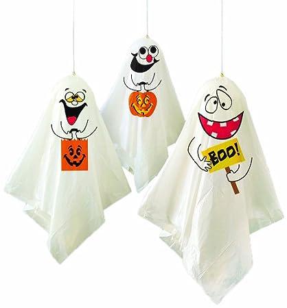 3 palloncini decorazioni fantasma di Halloween Unique