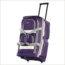 320e2f95f8 Olympia Luggage Sports Plus 26 Inch 8 Pocket Rolling Duffel Bag ...
