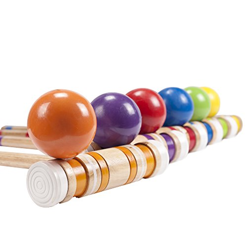 Complete Croquet Set with Carrying