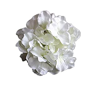 bbhoney 6pcs Pack Artificial Silk Hydrangea Flower Home Hotel Wedding Party Garden Decor 95