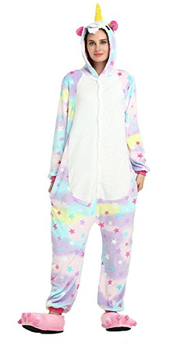 ABING Halloween Pajamas Homewear Onepiece Onesie Cosplay Costumes Kigurumi Animal Outfit (Couple Halloween Outfit)