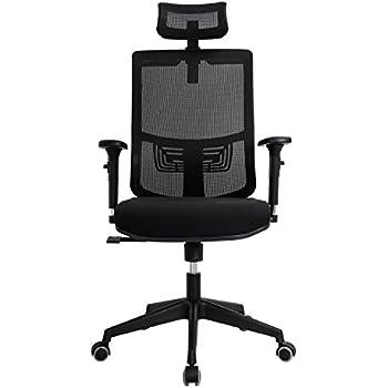 Amazon.com: Argomax Mesh ergonomic office chair(EM-OC002): Kitchen ...
