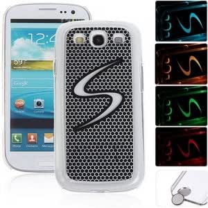 S Style Flasher LED Color Changed Protective Case for Samsung Galaxy S3 i9300