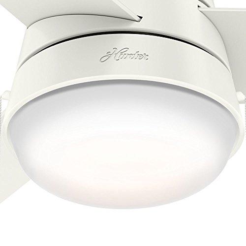 Hunter Fan Company 59301 Aker Ceiling Fan Hunter Light, 36'', Fresh White by Hunter Fan Company (Image #7)