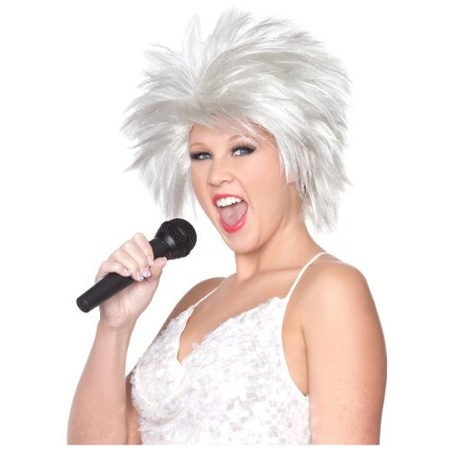 Wig Rock Star Costumes Accessories (Rock Star Wig Costume Accessory)