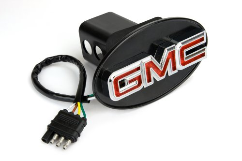 Reese Towpower 86061 Licensed LED Hitch Light Cover with GMC Logo ()