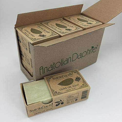 (Olive Oil Soap Bar - Handmade 100% Pure Natural & Vegan - 5.7 oz Each Bar (9 Bars))