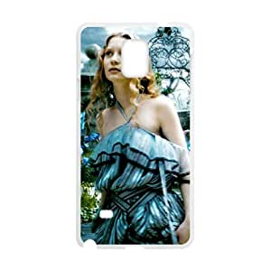 Joii Samsung Galaxy Note 4 Cell Phone Case Covers White Alice in Wonderland