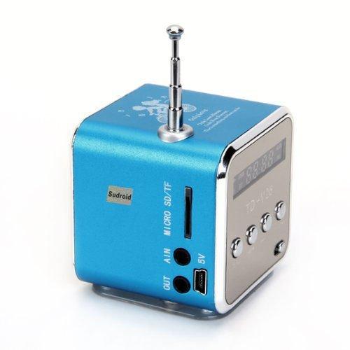 Generic TD-V26 Mini Digital Portable Music Player with Micro SD/TF/USB/FM...