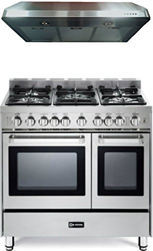 2-Piece Stainless Steel Kitchen Package with VEFSGG365NDSS 36