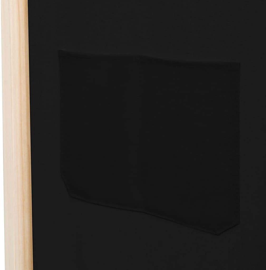 vidaXL Cloison de S/éparation 6 Panneaux S/éparateur de Pi/èce Diviseur Ecran dIntimit/é Paravent Chambre /à Coucher Maison Int/érieur Blanc 300x180 cm