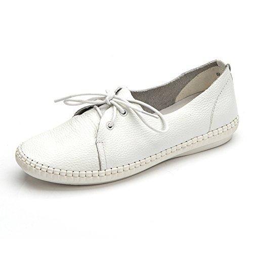 Zapatos de fondo suave/Zapatos de tacón plano/Caída de zapatos de la señora A