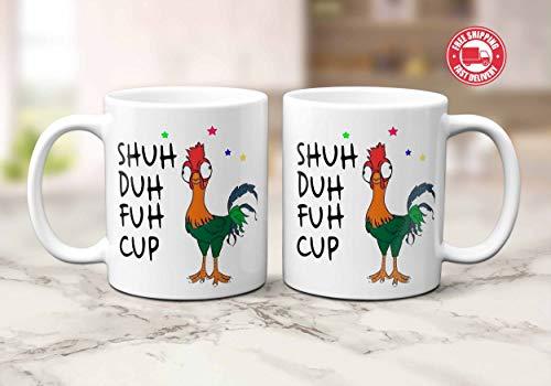 Shuh Duh Fuh Cup Funny Chicken Mug