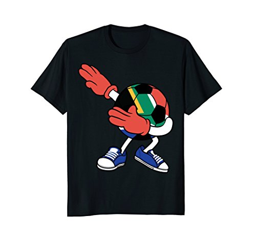 fan products of Dabbing Soccer South Africa Jersey Shirt - African Football